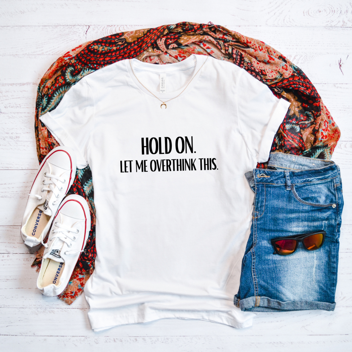 unisex-t-shirt-white-hold-on-let-me-overthink-this